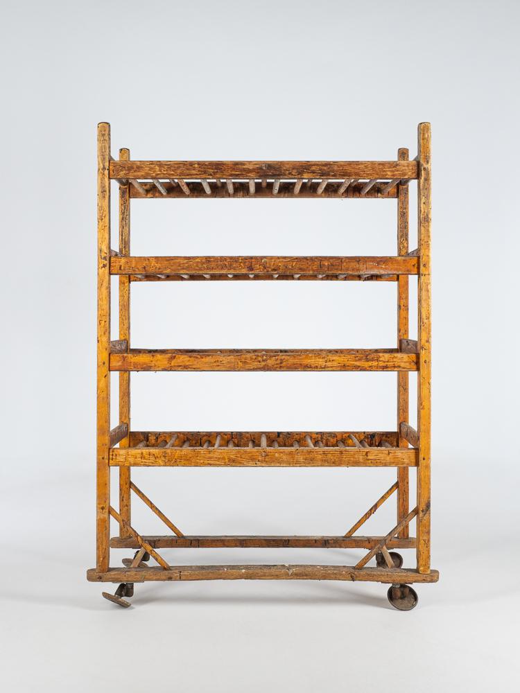 antique shoe rack